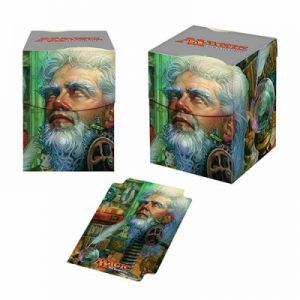 Boites de rangement illustrées  Unstable - Deck Box 100+ - V1 - Urza, Academy Headmaster