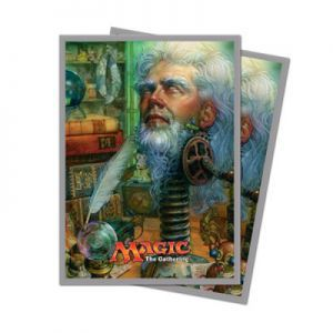 Protèges Cartes illustrées Magic the Gathering Unstable - 120 Pochettes - Urza, Academy Headmaster