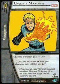 Marvel Origins - Cartes Vs System MOR-220 - Molécules Instables (C) - Vs System