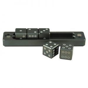 Dés et compteurs Accessoires Pour Cartes Ultra Pro - Gravity Dice Dé 6 Faces - Black Forest - 6 Dice Set - ACC