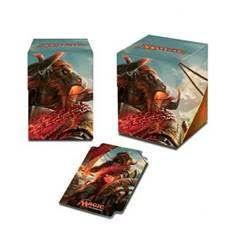 Boites de rangement illustrées Accessoires Pour Cartes Deck Box Ultra Pro 100+ - Rivals Of Ixalan V1 - Angrath, Pirate Minotaure - Acc