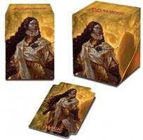 Boites de rangement illustrées Accessoires Pour Cartes Deck Box Ultra Pro 100+ - Rivals Of Ixalan V2 - Elenda, La Rose Du Crépuscule - Acc