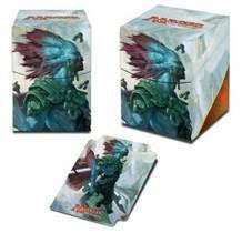 Boites de rangement illustrées  Deck Box Ultra Pro 100+ - Rivals Of Ixalan V3 - Kumena, Tyran D'orazca - Acc