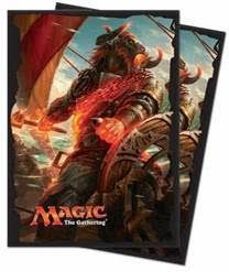 Protèges Cartes illustrées  Rivals Of Ixalan - 80 Pochettes - Angrath, Pirate Minotaure
