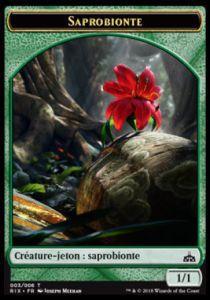 Tokens Magic Token/jeton - Les Combattants D'ixalan - 03/6 Saprobionte