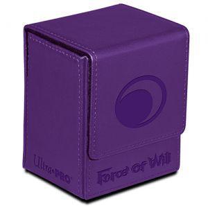 Boites de rangement illustrées  Flip Box Ultra Pro - Force Of Will - Darkness Magic Stone (violet) - Acc