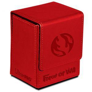 Boites de rangement illustrées  Flip Box Ultra Pro - Force Of Will - Fire Magic Stone (rouge) - Acc