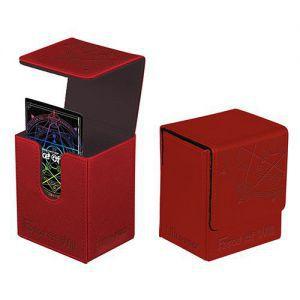 Boites de rangement illustrées Accessoires Pour Cartes Flip Box Ultra Pro - Force Of Will - Red Card Back (Logo) - Acc