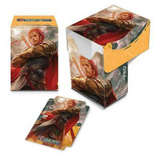 Boites de rangement illustrées Accessoires Pour Cartes Deck Box Ultra Pro - Force Of Will - Feu - Acc