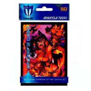 Protèges Cartes illustrées Accessoires Pour Cartes 50 Pochettes Max Protection - Force Of Will - Little Dread - Acc