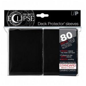 Protèges Cartes  80 pochettes - Deck Protector Eclipse - Noir