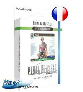 Final Fantasy Autres jeux de cartes Final Fantasy - Opus V - (série 5) - Starter Deck Final Fantasy Xii - (en Français)