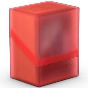 Boites de Rangements Accessoires Pour Cartes Deck Box Ultimate Guard - Boulder 80+ - Rouge/Rubis - Acc