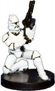 Star Wars Miniatures - The Clone Wars Star Wars Miniatures N°2/6 - Clone Trooper [Star Wars Miniatures The Clone Wars - Starter] - Figurine Seule