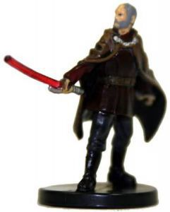 Star Wars Miniatures - The Clone Wars Star Wars Miniatures N°4/6 - Count Dooku of Serenno [Star Wars Miniatures The Clone Wars - Starter] - Figurine Seule
