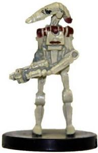 Star Wars Miniatures - The Clone Wars Star Wars Miniatures N°5/6 - Security Battle Droid [Star Wars Miniatures The Clone Wars - Starter] - Figurine Seule