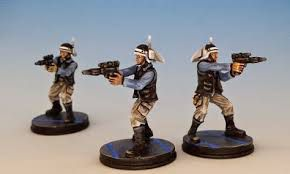 Star Wars Miniatures - Rebels and Imperials 2P008 - Rebel Heavy Trooper [Star Wars Miniatures - Rebels and Imperials] [Figurine Seule]