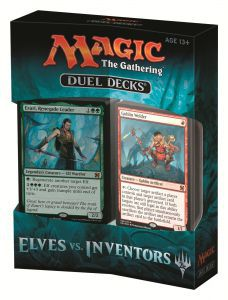Decks Préconstruits Magic the Gathering Duel Decks : Elves Vs. Inventors