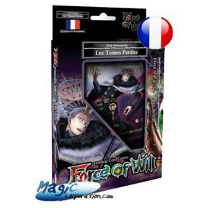 Starters Force of Will Force Of Will - Starter Deck - Les Tomes Perdus - 2018 - (en Français)