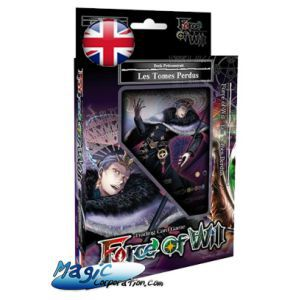Starters Force of Will Force of Will Force Of Will - Starter Deck - Les Tomes Perdus / The Lost Tomes - 2018 - (EN ANGLAIS)