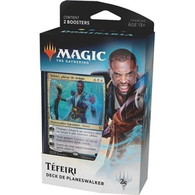 Decks Magic the Gathering Dominaria - Planeswalker Deck - Teferi - Bleu/blanc
