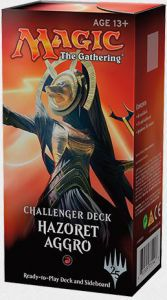 Decks Préconstruits Magic the Gathering Challenger Deck - Hazoret Aggro - Rouge