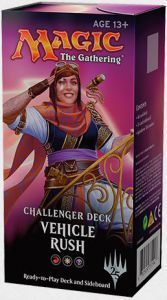 Decks Challenger Deck - Vehicle Rush - Rouge/blanc/noir