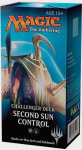 Decks Magic the Gathering Challenger Deck - Second Sun Control - Blanc/bleu