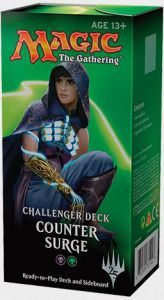 Decks Préconstruits Magic the Gathering Challenger Deck - Counter Surge - Noir/vert