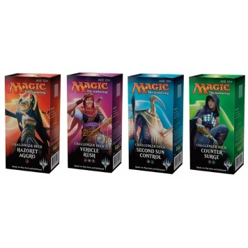 Decks Magic the Gathering Challenger Deck - Lot des 4 Decks