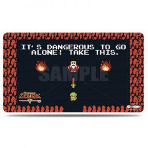 Tapis de Jeu Accessoires Pour Cartes Tapis De Jeu Ultra Pro - Playmat - The Legend Of Zelda - Dangerous - ACC