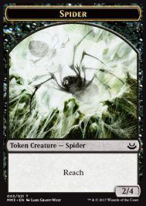 Tokens Magic Accessoires Pour Cartes Token/Jeton - Modern Masters 3 - Spider