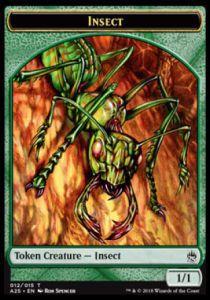 Tokens Magic Token/Jeton - Masters 25 - 12/15 Insecte