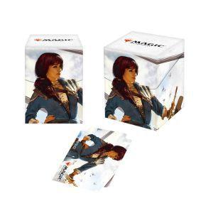 Boites de rangement illustrées Accessoires Pour Cartes Deck Box 100+ - Dominaria - Jhoira