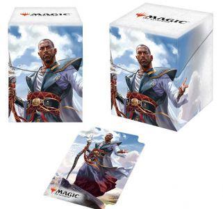 Boites de rangement illustrées Accessoires Pour Cartes Deck Box Ultra Pro 100+ - Dominaria - Teferi