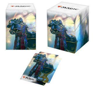 Boites de rangement illustrées Accessoires Pour Cartes Deck Box Ultra Pro 100+ - Dominaria - Karn