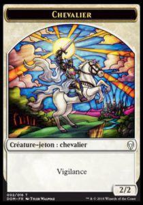 Tokens Magic Token/jeton - Dominaria - (02/16) Chevalier