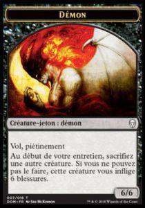 Tokens Magic Accessoires Pour Cartes Token/jeton - Dominaria - (07/16) Démon