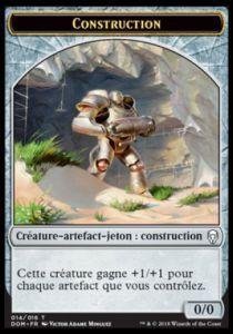 Tokens Magic Magic the Gathering Token/jeton - Dominaria - 14/16 Construction