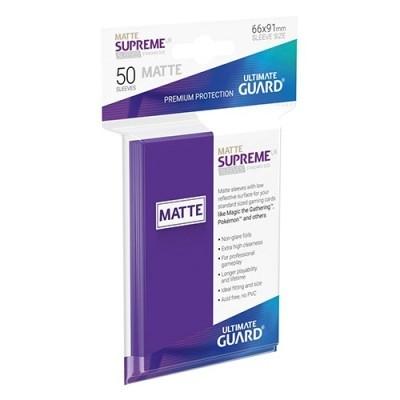 Protèges Cartes  50 Pochettes - Supreme UX - Violet Matte