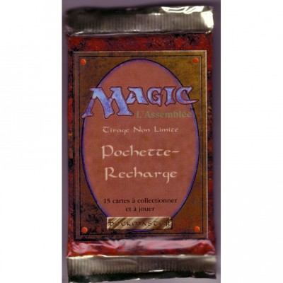 Boosters Magic the Gathering 3ème Edition / Revised (Bords Blancs) - Booster de 15 cartes