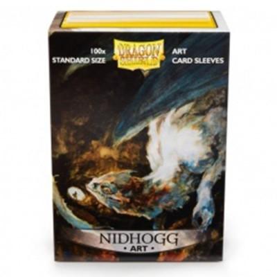 Protèges Cartes illustrées Accessoires Pour Cartes 100 pochettes illustrées Dragon Shield - Nidhogg - ACC