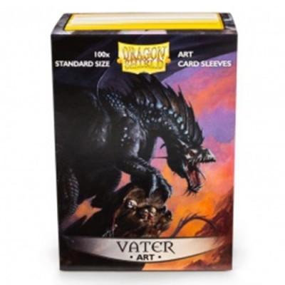Protèges Cartes illustrées Accessoires Pour Cartes 100 pochettes illustrées Dragon Shield - Vater - ACC