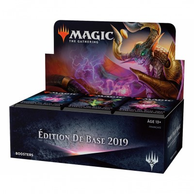 Boites de Boosters Magic the Gathering Edition de base 2019