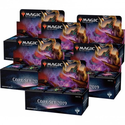 Boites de Boosters Magic the Gathering Core Set 2019 - Carton de 6