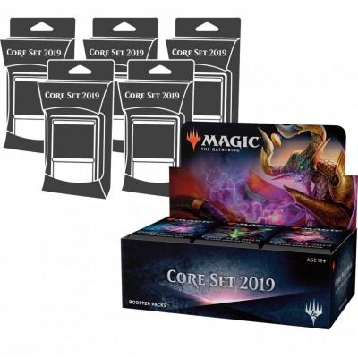 Offres Spéciales Magic the Gathering Core Set 2019 - Super Pack