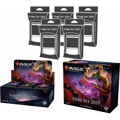 Offres Spéciales Magic the Gathering Edition de Base 2019 - Mega Pack