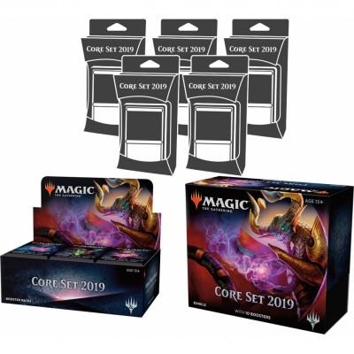 Offres Spéciales Magic the Gathering Edition de Base 2019 - Core Set 2019 - Mega Pack