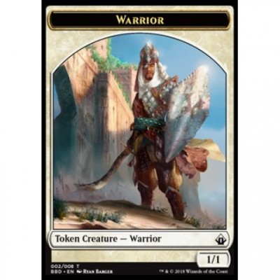 Tokens Magic Magic the Gathering Jeton - Battlebond- (02/8) Guerrier