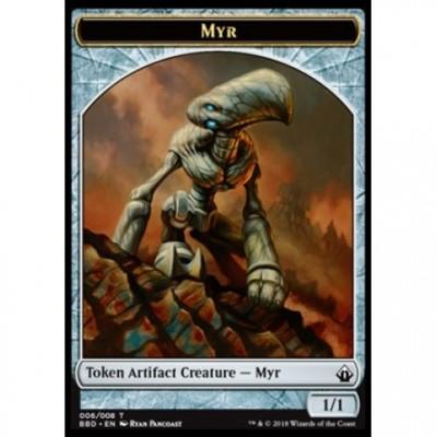Tokens Magic Jeton - Battlebond- (06/8) Myr